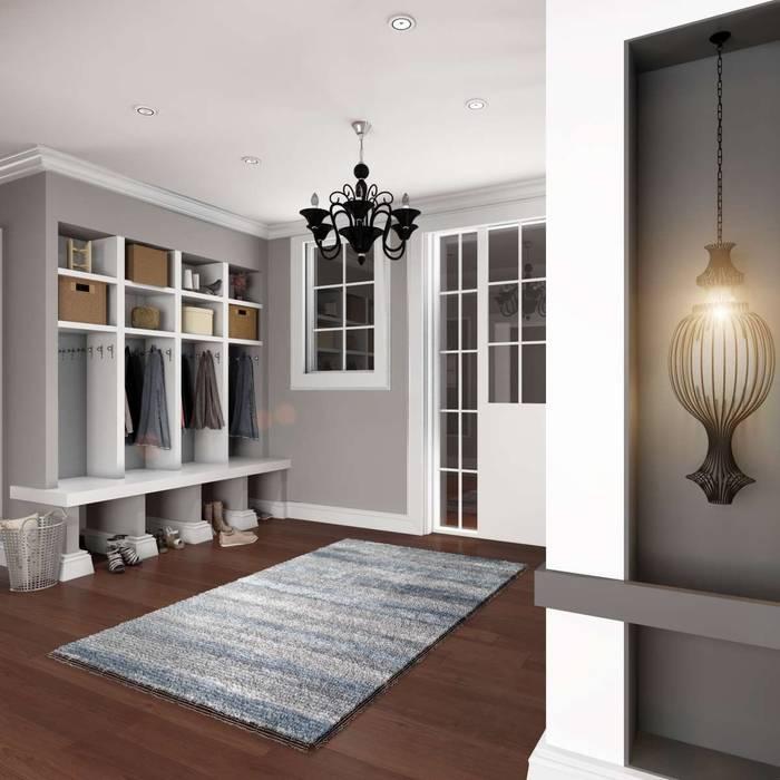 Yunus Emre | Interior Design Modern corridor, hallway & stairs by VERO CONCEPT MİMARLIK Modern