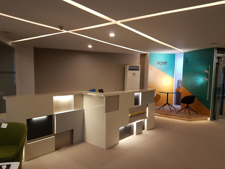 :  Study/office by Xception the design studio