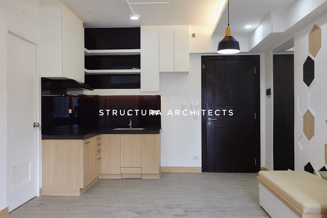 Kitchen:  Small kitchens by Structura Architects,