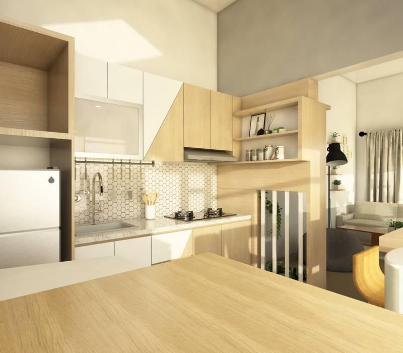 Cozinhas modernas por viku Moderno