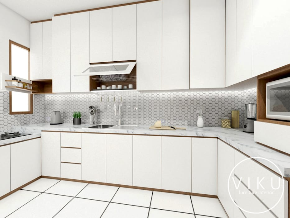 Kitchen set Dapur Modern Oleh viku Modern