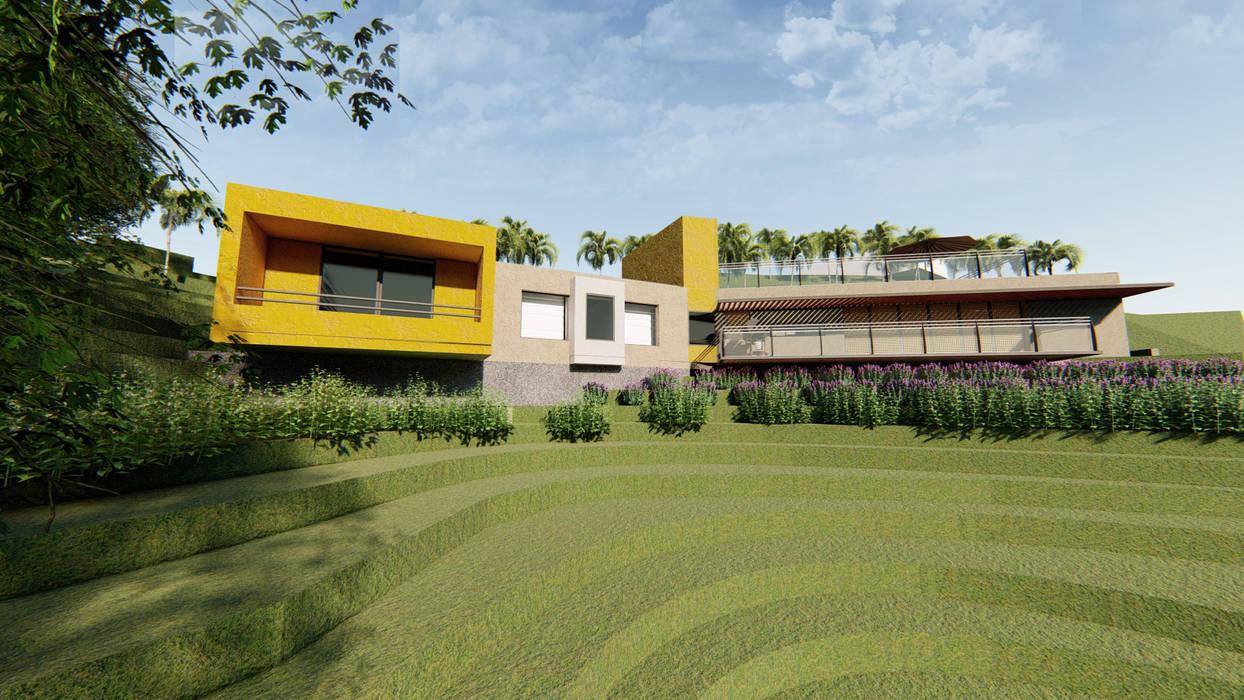 de Áureo Arquitectura Moderno Concreto