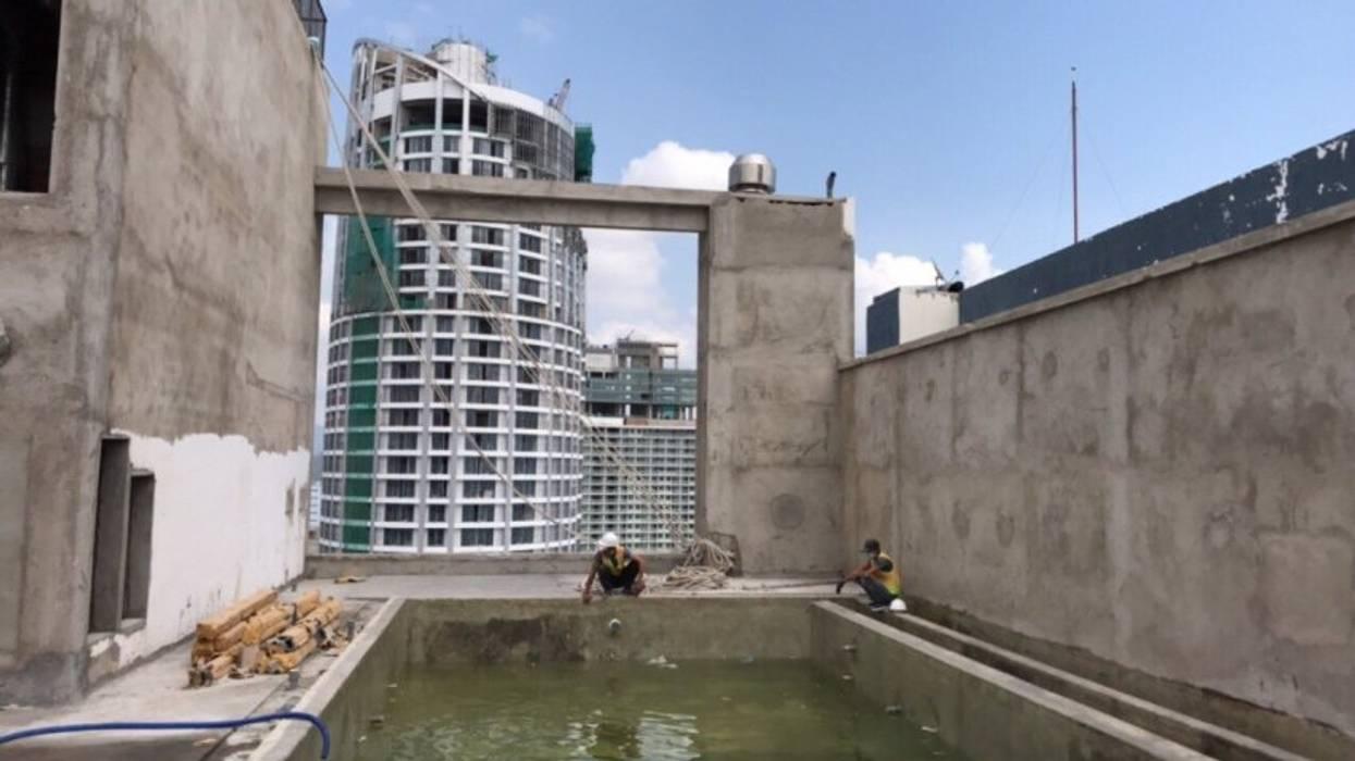 Công ty xây dựng bể bơi seapoolvn dự toán thi công by seapoolvn Modern Glass