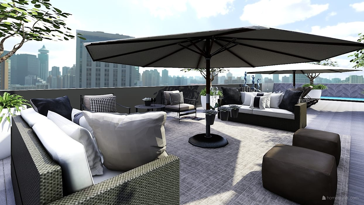 Outdoor Entertainment Areas:   by CKW Lifestyle Associates PTY Ltd