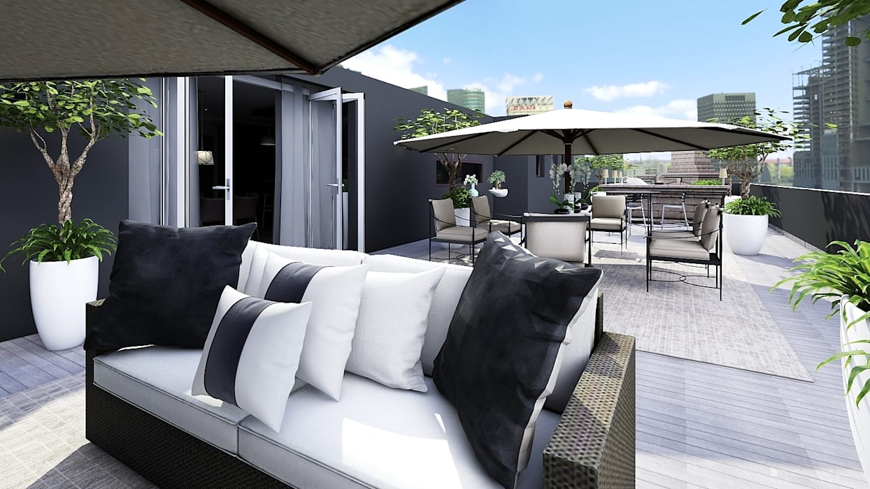 Outdoor Entertainment Areas : modern  by CKW Lifestyle Associates PTY Ltd, Modern