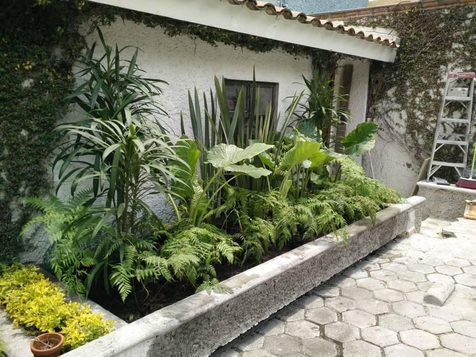 Remodelación jardín 1: Jardines de estilo  por Arte y Diseño en paisaje