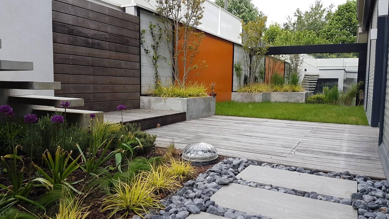 Jardin contemporain: jardin zen de style par créateurs d ...