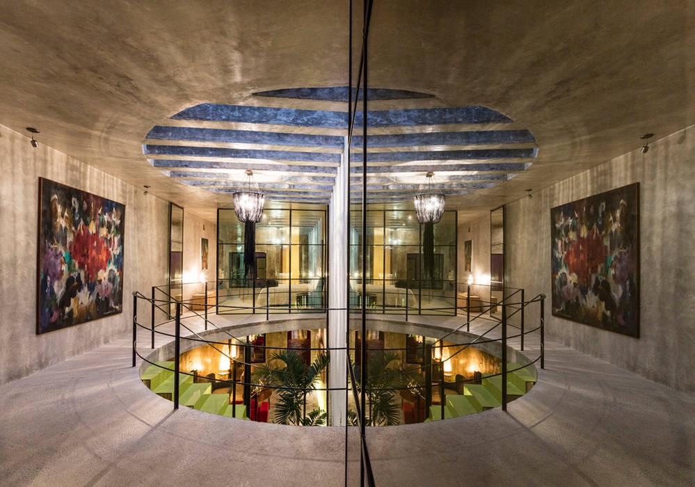 Projekty,  Drzwi szklane zaprojektowane przez Taller Estilo Arquitectura