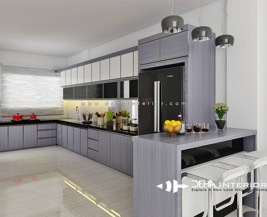 Project Thomin Shu: Dapur oleh deha interior pekanbaru,
