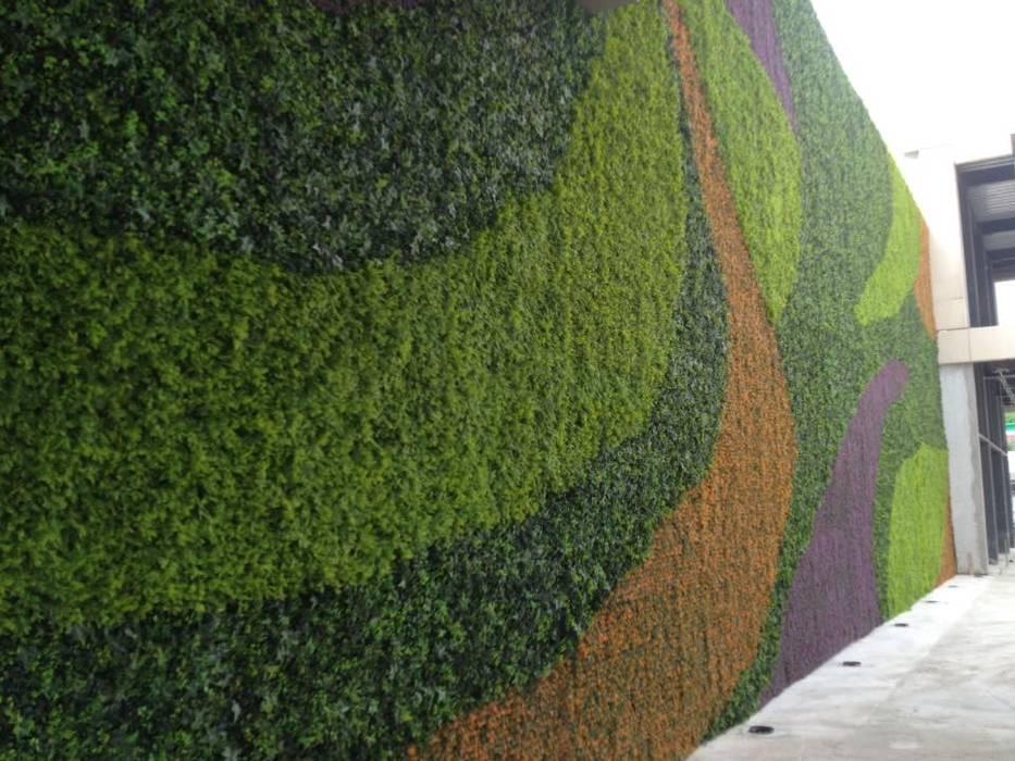 jardín vertical artificial: Jardines de estilo  por VERTIJARDIN