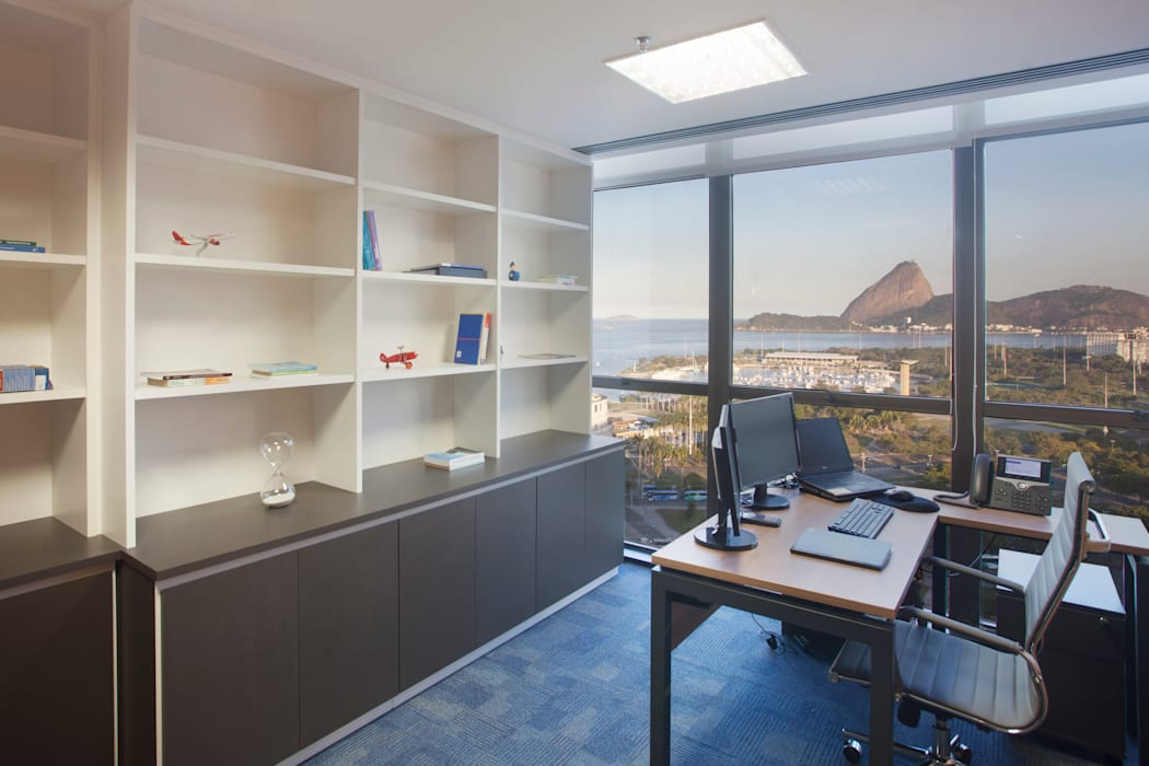 Classic office buildings by Viviane Cunha Arquitectura Classic
