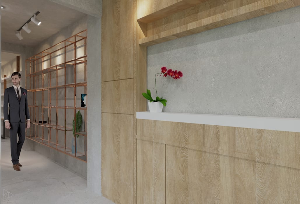 Corridor- 1st Floor: Koridor dan lorong oleh TIES Design & Build,