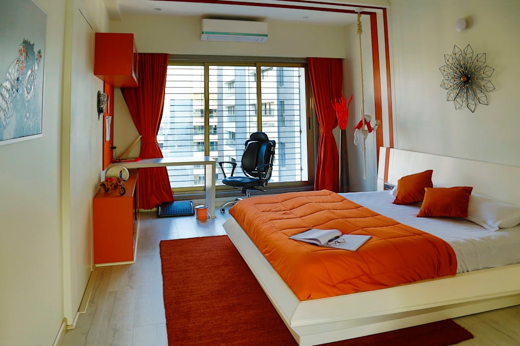 Residential Project :  Small bedroom by Obaku Design
