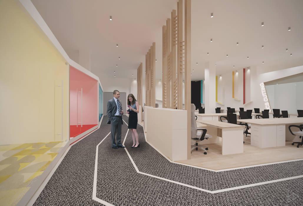 Path: Koridor dan lorong oleh TIES Design & Build,