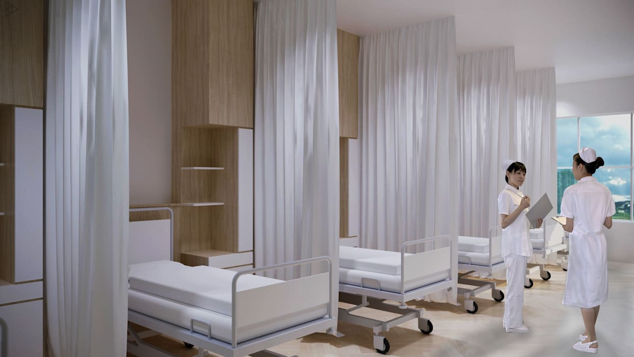 Ward: Dinding oleh TIES Design & Build,