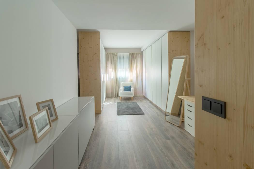 Skandinavische Schlafzimmer von mesquearquitectura Skandinavisch Sperrholz