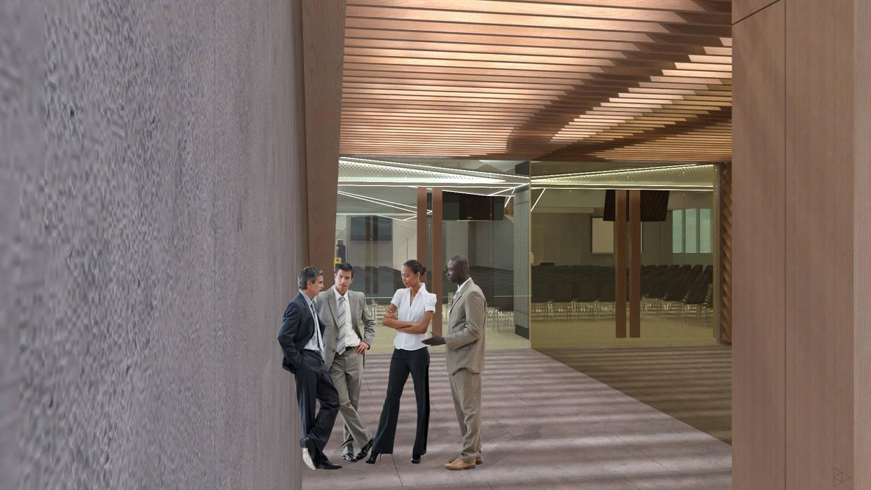 Entrance: Koridor dan lorong oleh TIES Design & Build,