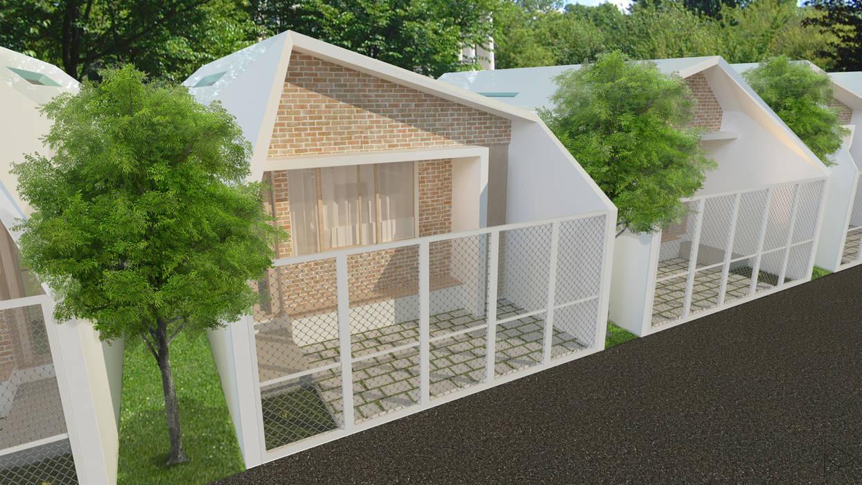 Eksterior TIES Design & Build Rumah Minimalis