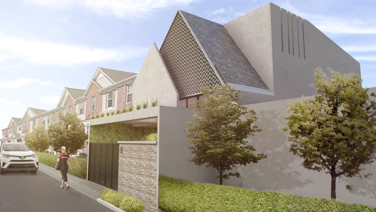 Exterior: Rumah oleh TIES Design & Build,