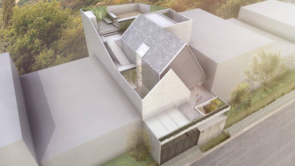 Bird View: Rumah oleh TIES Design & Build,