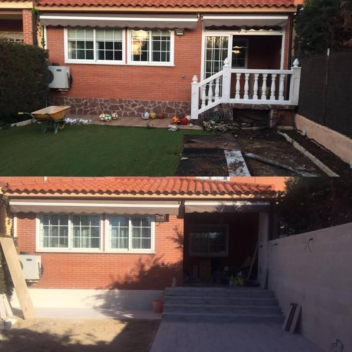 Terrace house by Almudena Madrid Interiorismo, diseño y decoración de interiores