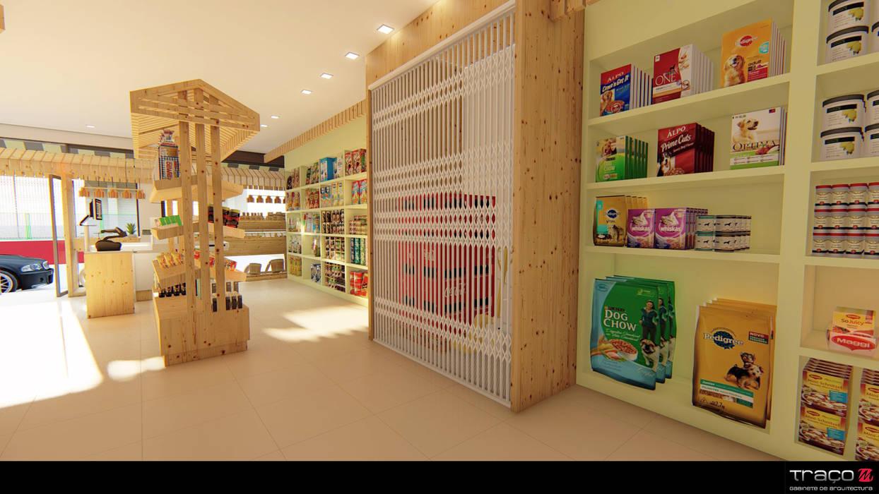 Oficinas y Comercios de estilo  por Traço M - Arquitectura, Rural Madera Acabado en madera