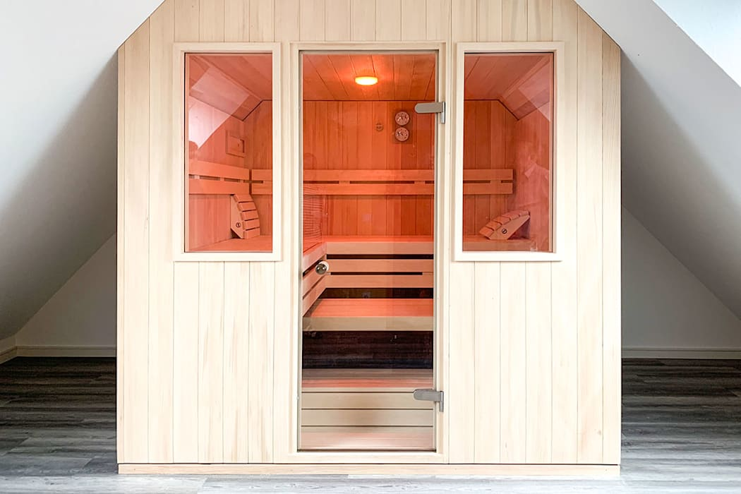 Sauna nach maß im dachgeschoss | koerner saunamanufaktur ...