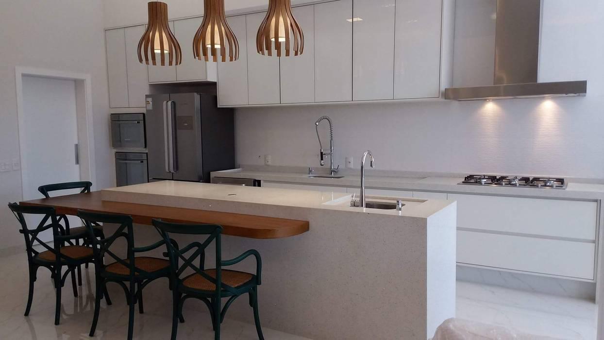 Catini & Catini arquitetura Unit dapur