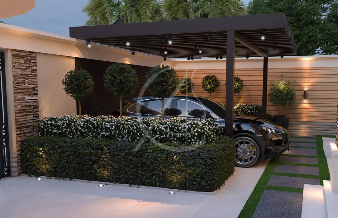 Modern Classic House Design de Comelite Architecture, Structure and Interior Design Moderno