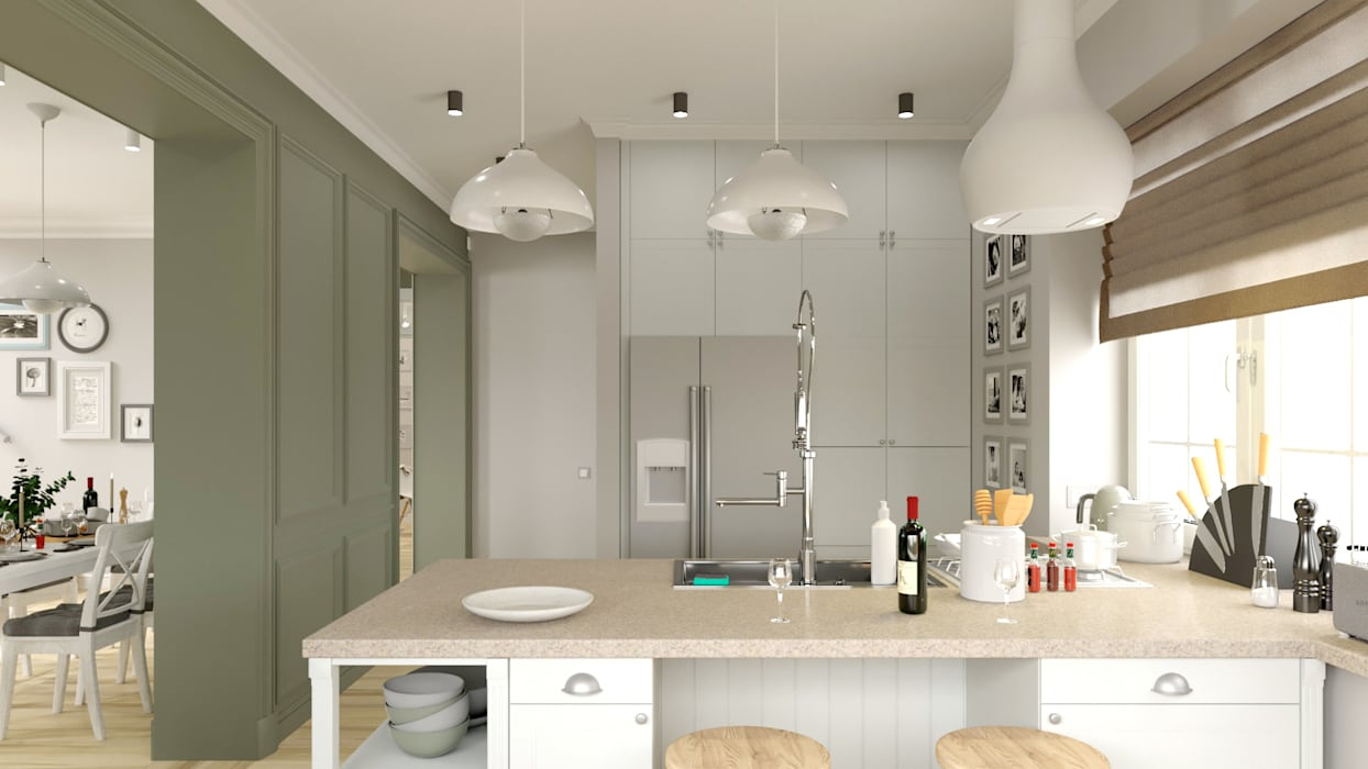 Kitchen by BAUART INTERIOR DESIGN,