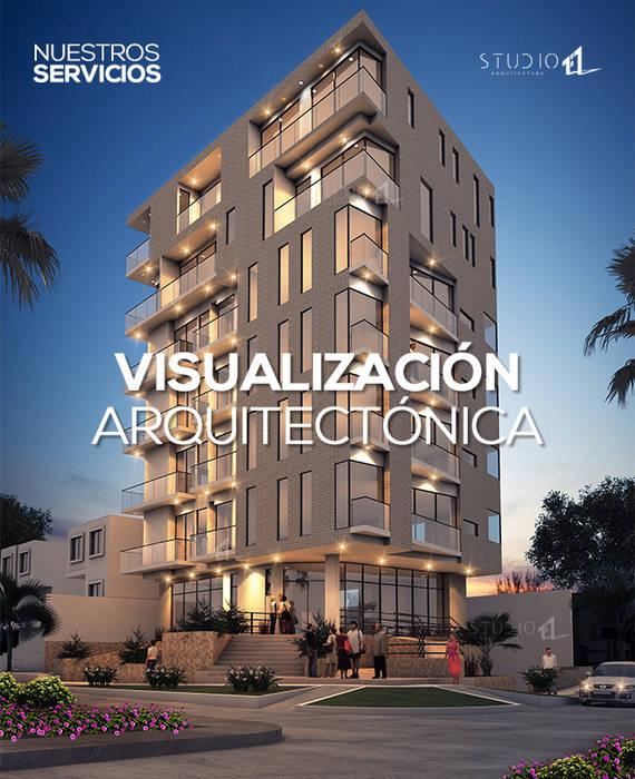 by Studio 1:1 Arquitectura Сучасний