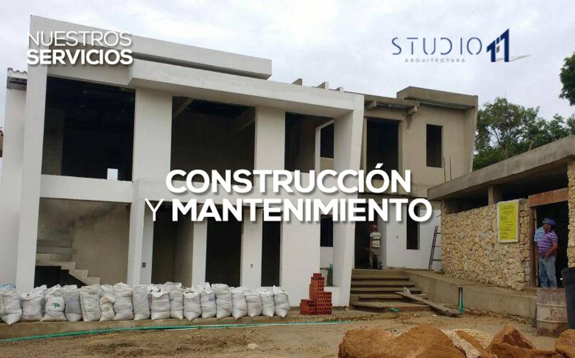 根據 Studio 1:1 Arquitectura 現代風