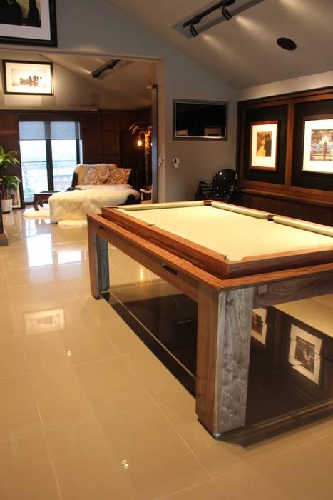 Spartan Rollover Pool Dining Table Designer Billiards Modern living room