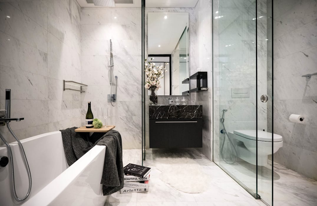 Captivating Chic:  Bathroom by Double Art Design Studio