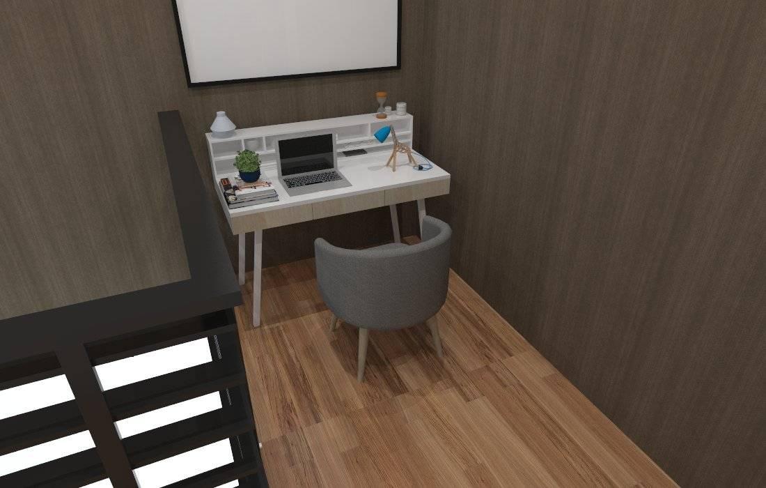 Tempat Kerja:  Ruang Kerja by SARAÈ Interior Design