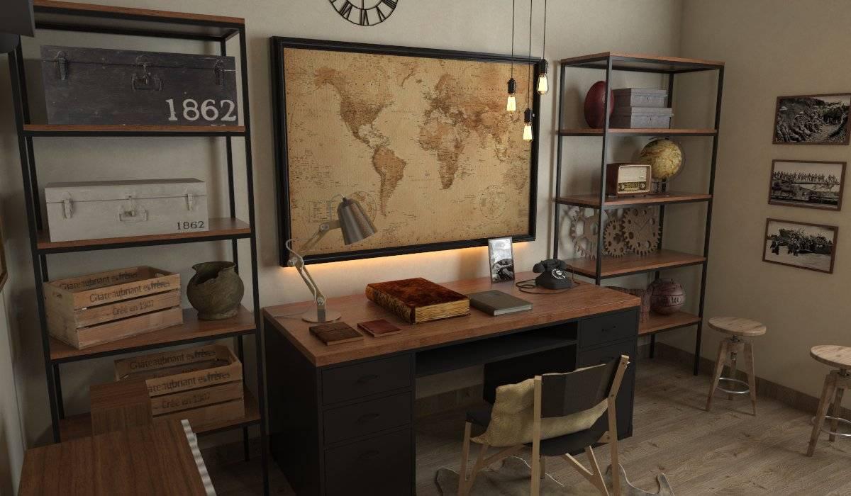 Ruang kerja:  Ruang Kerja by SARAÈ Interior Design