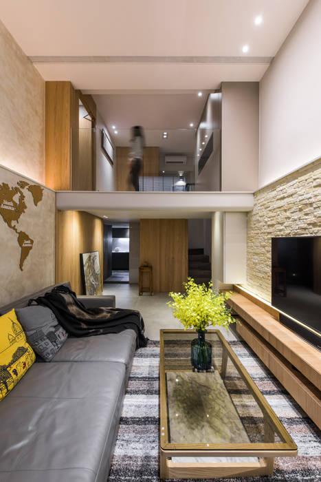 Livings de estilo  por 竹村空間 Zhucun Design, Moderno