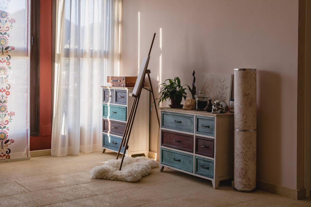 Pavimento interior en piedra natural Albamiel de Rosal Stones Mediterráneo Arenisca