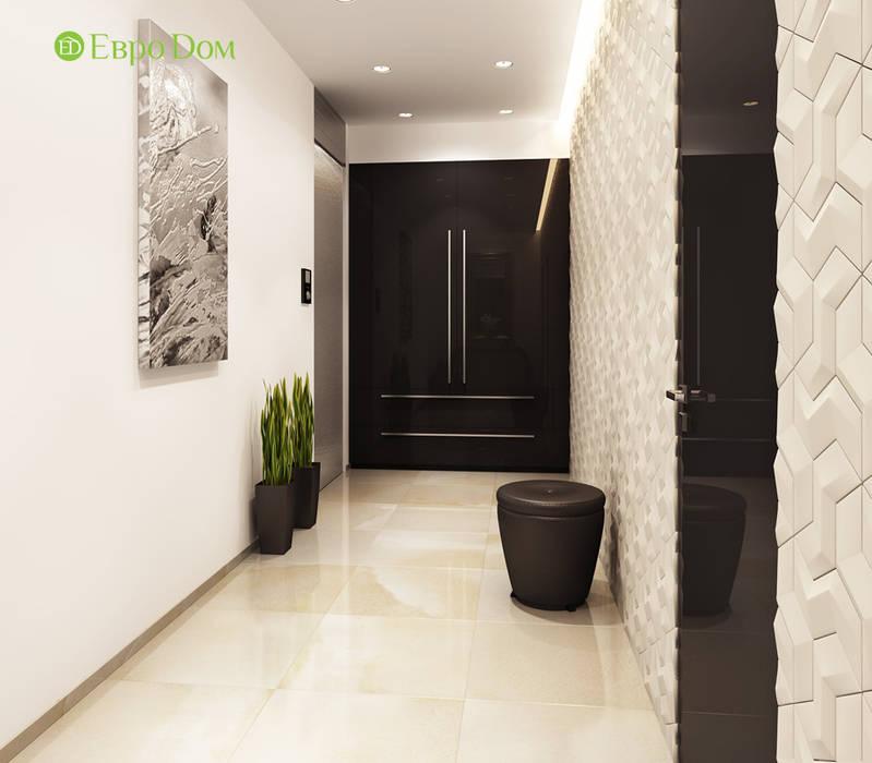 Дизайн трехкомнатной квартиры 193 кв. м в современном стиле. Фото проекта: Коридор и прихожая в . Автор – ЕвроДом, Лофт
