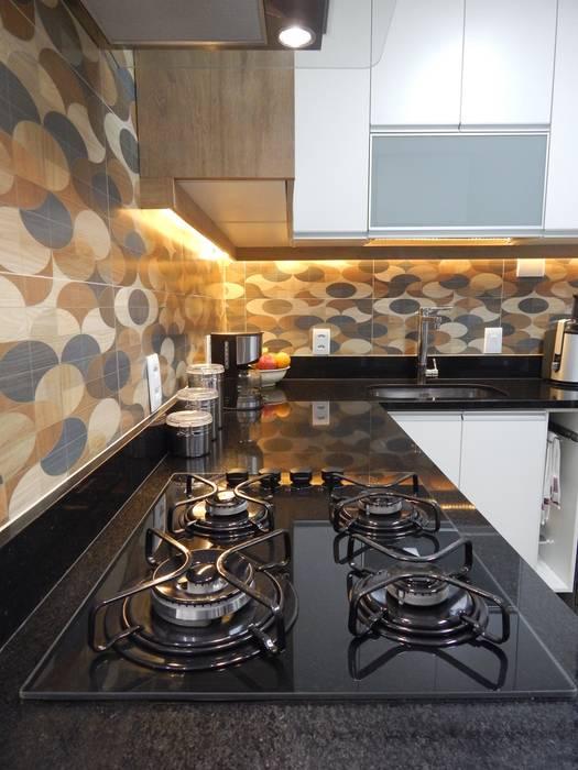 Izabella Biancardine Interiores Kitchen units