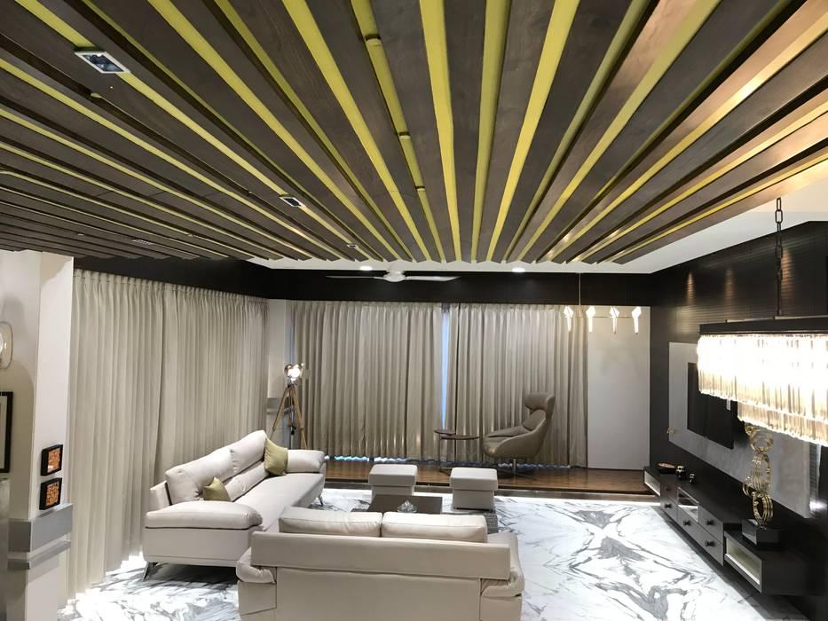 Living room design Ideas:  Living room by Obaku Design,Modern