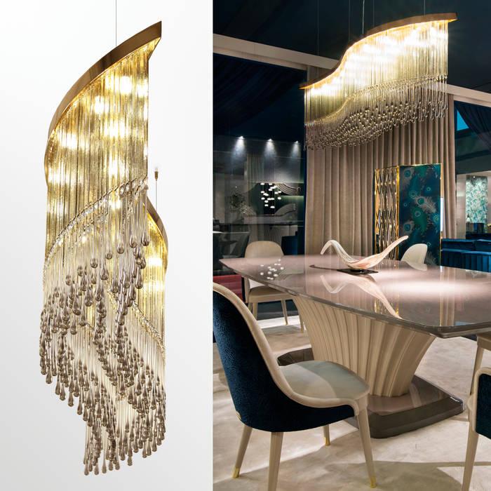 Pasillos y vestíbulos de estilo  por MULTIFORME® lighting,