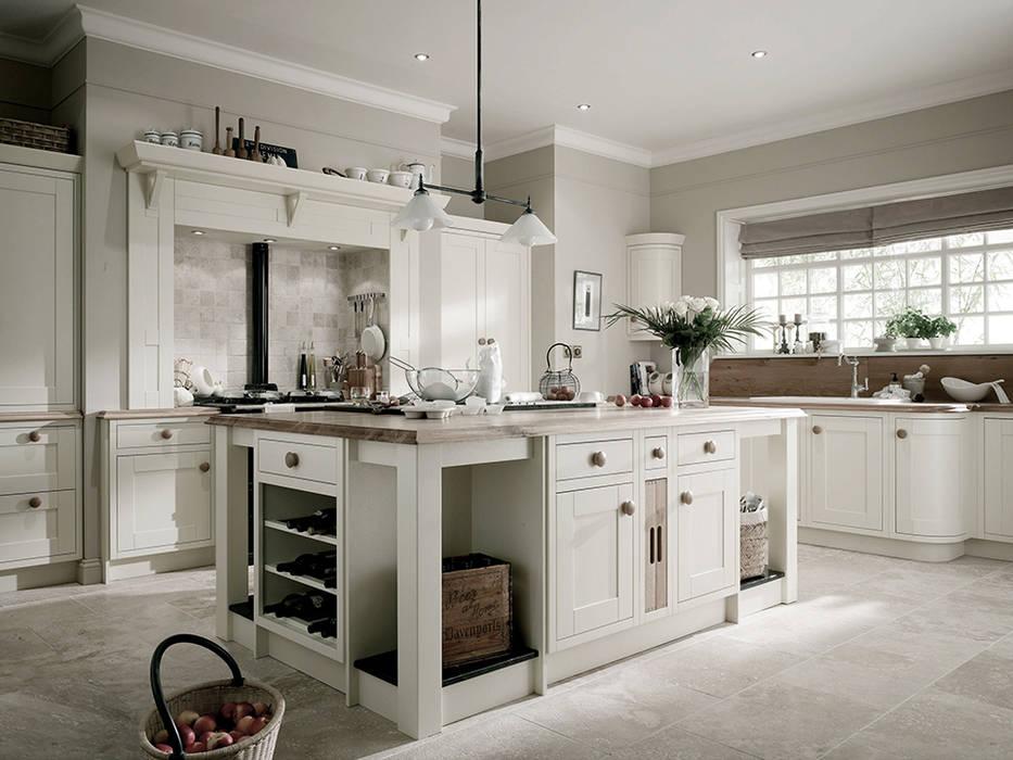 Cocinas de estilo  por Landlord-Living.de / Küper Interior GmbH, Rural Madera maciza Multicolor
