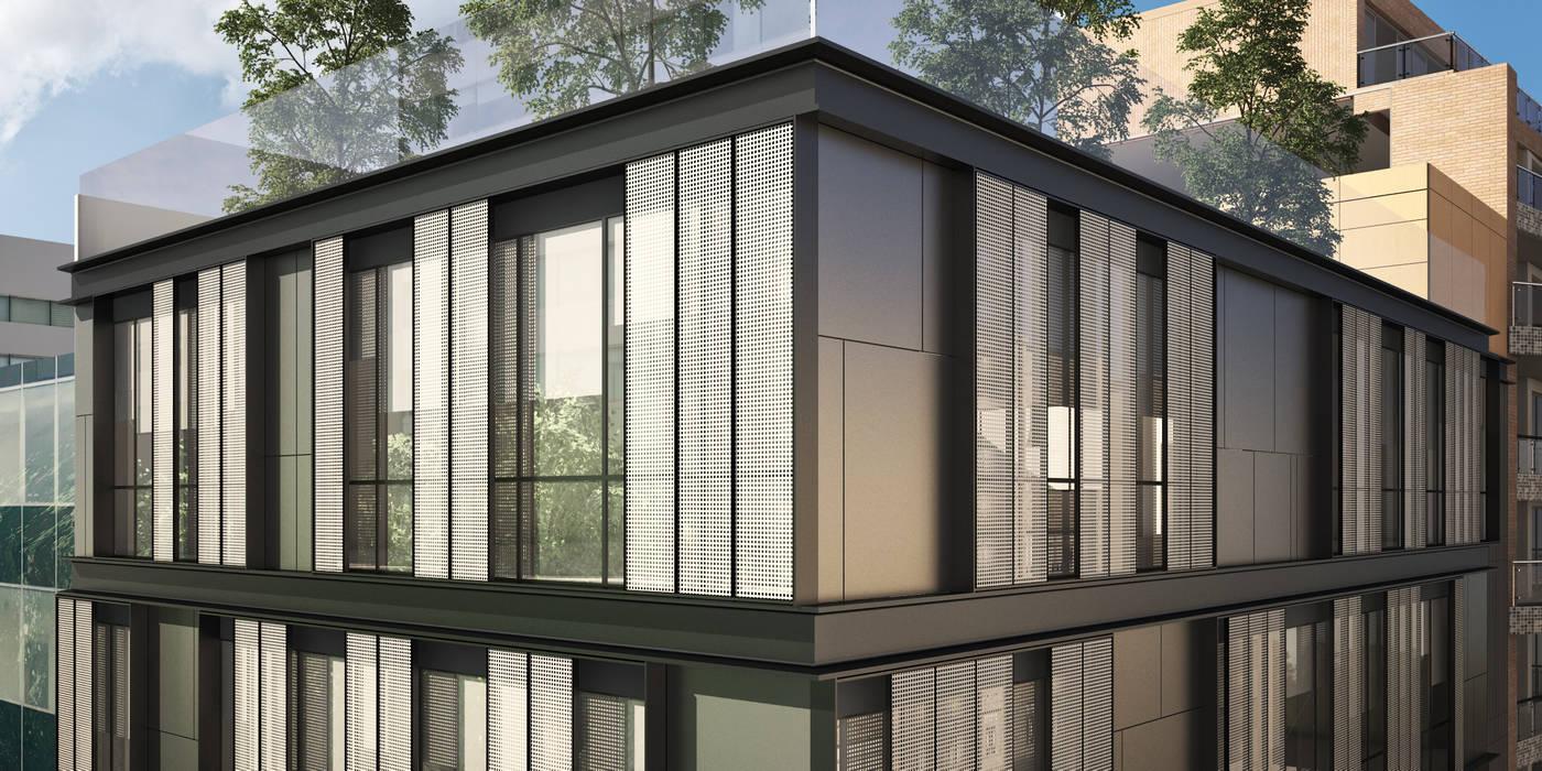Hotel Orostegui Spa modernos de Mega Ciudades Arquitectura & Urbanismo Moderno