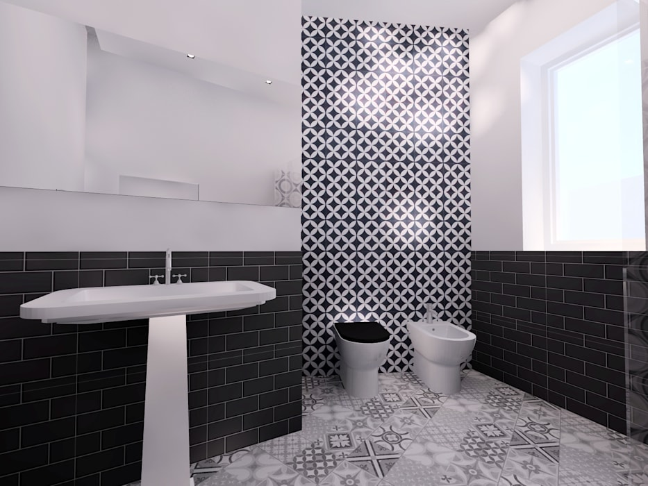 Phòng tắm theo Bartolomeo Fiorillo ,