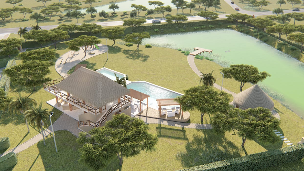 by DOMOS ARQUITECTURA S.A.S Tropical