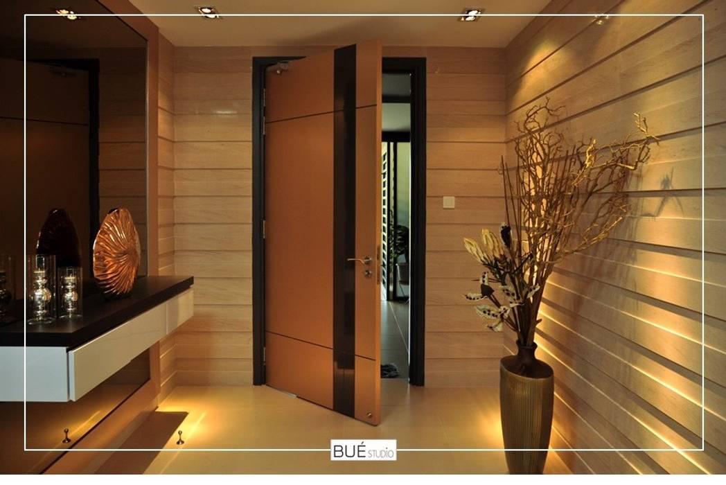 Wooden doors by Bue Studio Co.,Ltd.,