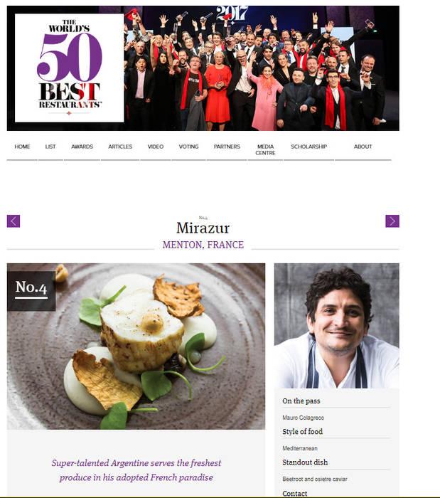 Élu le 4ème des 50 meilleurs restaurants au monde: Salle à manger de style  par Imagine Outlet