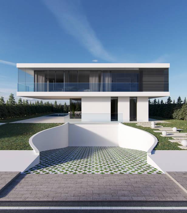 Detached home by Nuno Ladeiro, Arquitetura e Design, Modern