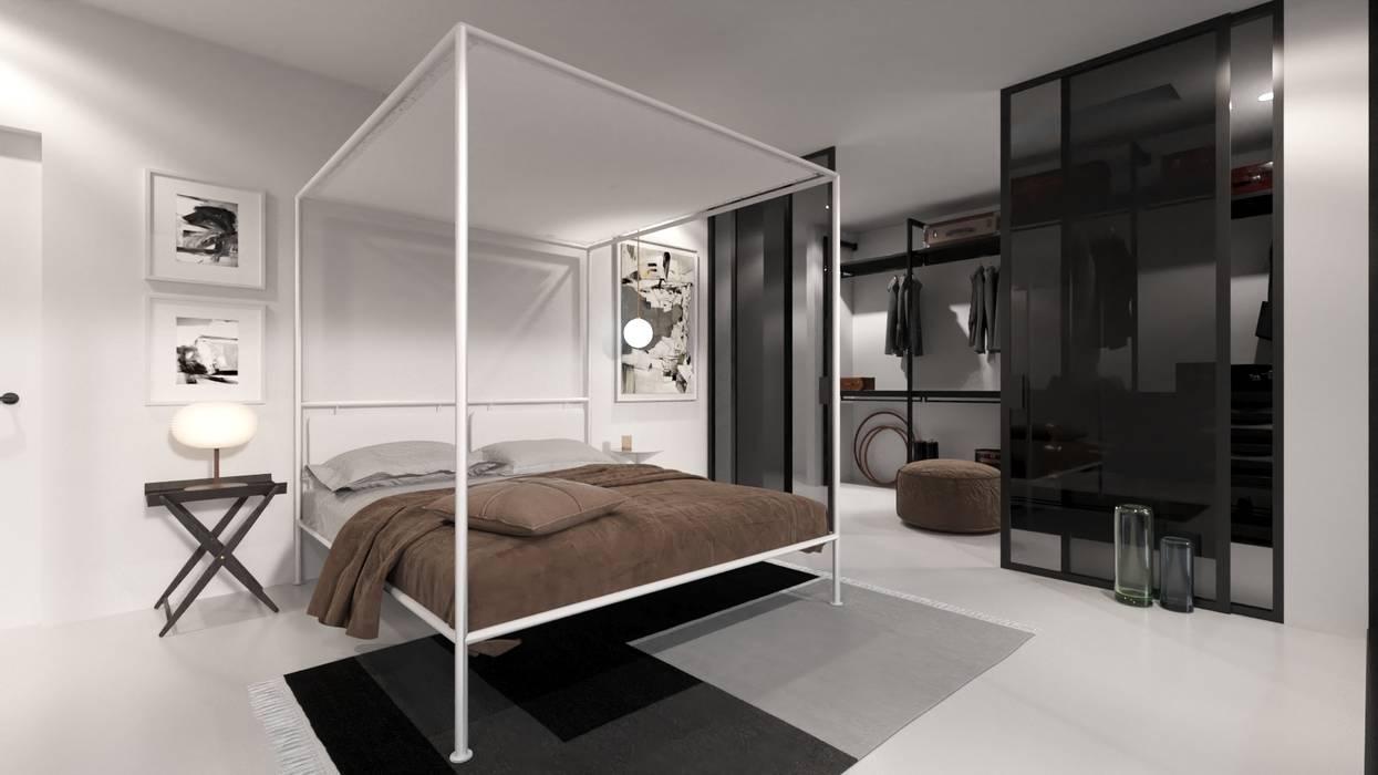 Bedroom by Nuno Ladeiro, Arquitetura e Design, Modern
